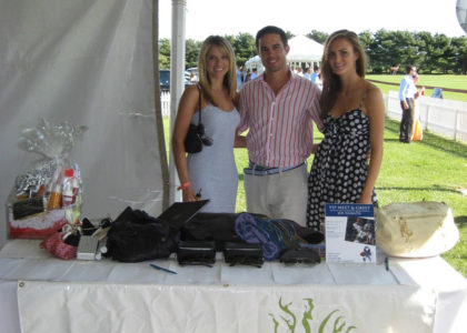 Raising Money for Breast Cancer Patient Support at Bridgehampton Polo
