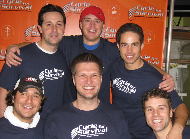 Brett Hickey Cycle For Survival