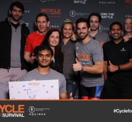 Cycle For Survival at Equinox (NYC)