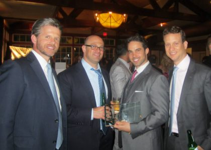 Brett Hickey Receives Philanthropic Achievement Award by A Caring Hand / The Billy Esposito Foundation