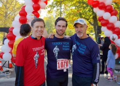 2016 Annual Terry Fox Run for Cancer Research in New York