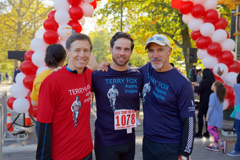 Brett Hickey Terry Fox Run