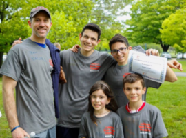 Star Mountain's Billy Goldstein Attends Children's Brain Tumor Foundation's 5K Walk