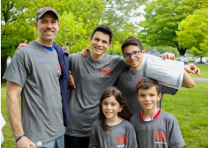 Star Mountain's Billy Goldstein Attends Children's Brain Tumor Foundation's 5K Walk